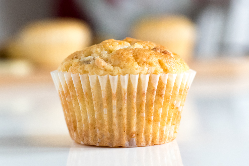 The BEST muffin recipe. This basic recipe is DELICIOUS and is made from just 6 budget ingredients. They are perfect for quick and easy desserts. They freeze well too, meaning they are perfect for lunchbox treats, afternoon snacks or coffee mornings | Hannah @ Thriftyish - making family life, thrifty, simple & fun